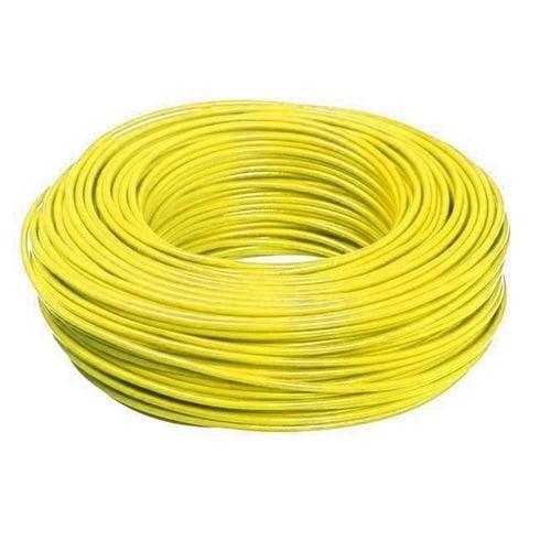 Cabo Flexível 1,5mm 100 Metros Amarelo 750V Way Fios