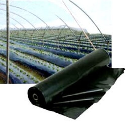 Mulching Preto NORTENE 1,20mX500m 25 Micras - Garantia 6 Meses