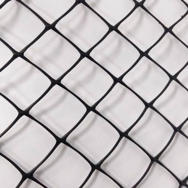 """Tela Plastica Hexagonal Preta 5 cm - Galinheiro 1,50x50m com malha de 2"""""""