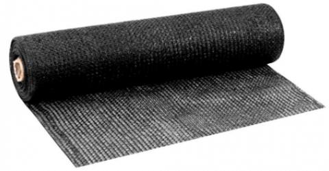 Tela de Sombreamento 50% Bloqueio AGRONET Preto 3x50