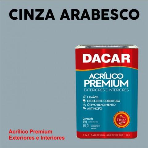 Tinta Dacar Acrílica Premium Exterior - Cinza Arabesco 18lts