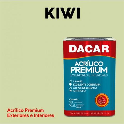 Tinta Dacar Acrílica Premium Exterior - Kiwi 18lts