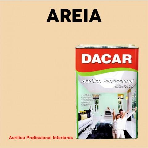 Tinta Dacar Acrílica Profissional - Areia 18lts