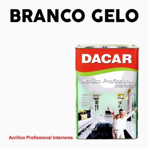 Tinta Dacar Acrílica Profissional - Branco Gelo 18lts