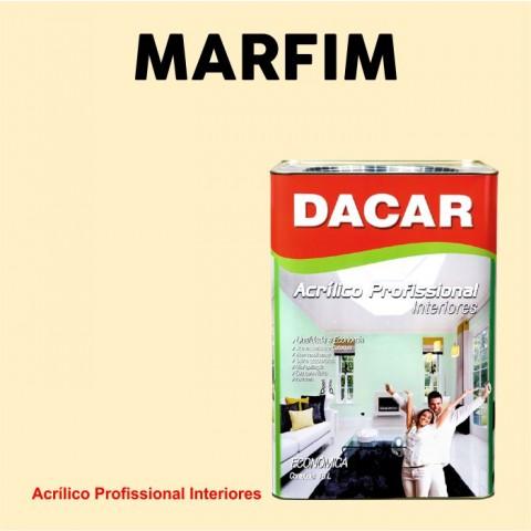 Tinta Dacar Acrílica Profissional - Marfim 18lts