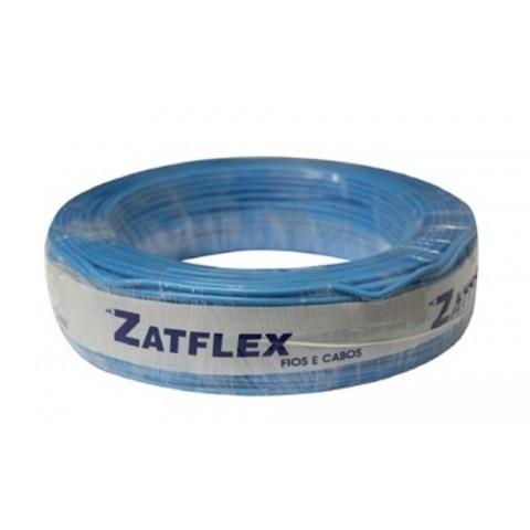 Cabo Flexível 6mm 100 Metros Azul 750V Zatflex