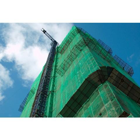 Tela de Segurança Fachada Anti-Queda 3,00x50m - Verde