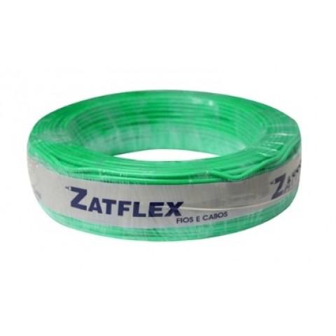 Cabo Flexível 2,5mm 100 Metros Verde 750V Zatflex