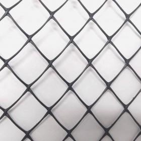 """Tela Plastica Hexagonal Preta 2,5 cm - Pinteiro 1,50x50m com malha de 1"""""""